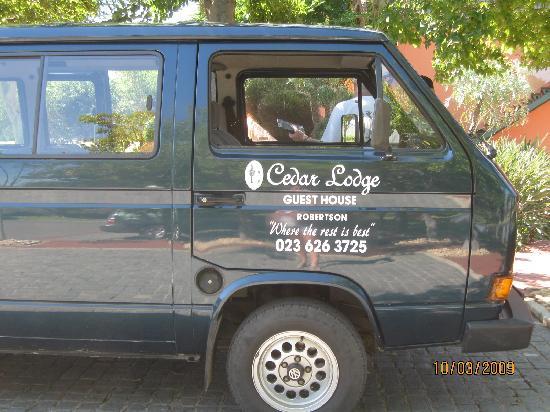 Cedar Lodge Guest House : On the wine tour