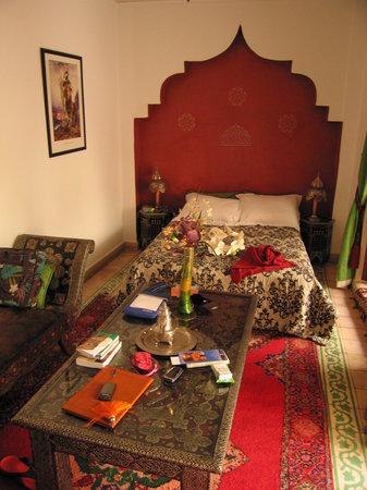 Riad Maison Belbaraka: Room Diva