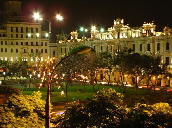 Gran Hotel Bolivar San Martin Square