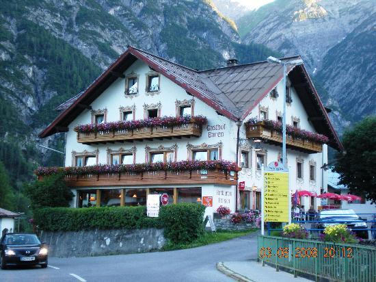Gasthof Bären entrée d'Holzgau