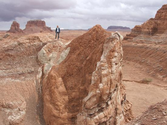 Goblin Valley State Park: one of the trails