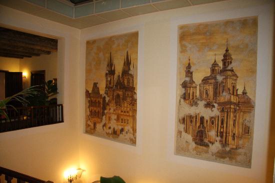 Grand Hotel Praha: L'entrée