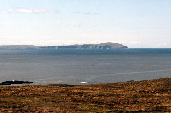 Scourie, UK: Handa Island - looking towards the mainland