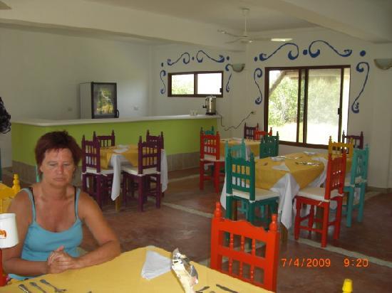 Baktun Hotel: salle déjeuner