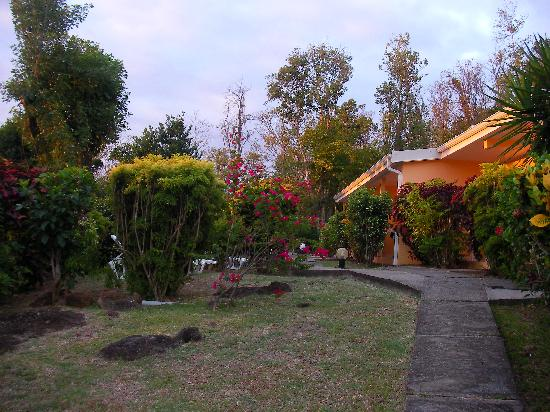Le Diamant, Martinik: Arrivée à la résidence