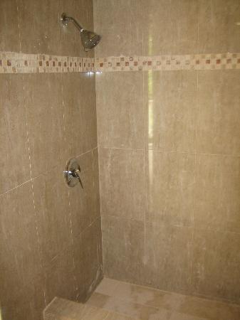 Emerald Escape Beach Resort: shower stall