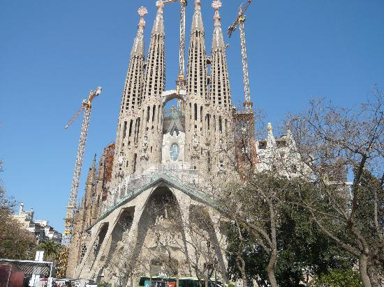 Hotel SB Diagonal Zero Barcelona: Gaudi Cathederal