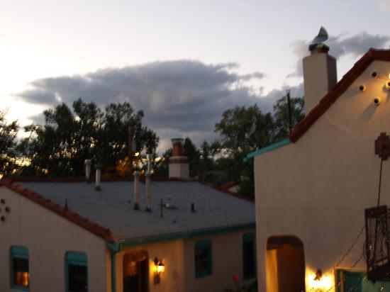 Casa de Estrellas: View from the balcony of our room