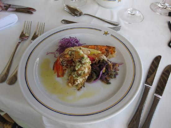 Iberostar Grand Hotel Rose Hall: Lobster at lunch!