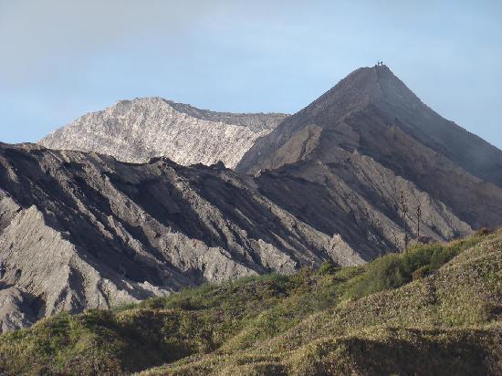Yoschi'shotel in Mountain Bromo: On top of Bromo