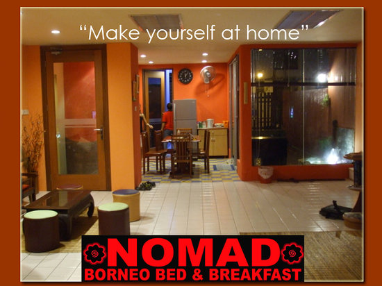 Le Nomade Hostel: the lobby