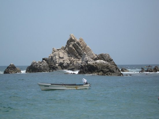 Huatulco, Mexique : San Augustin Rocks