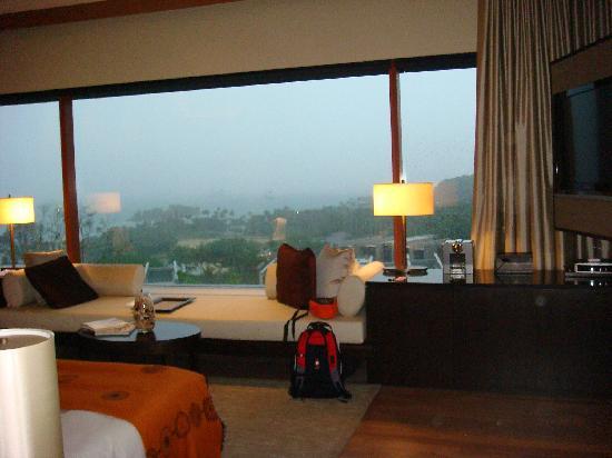 Capella Singapore: View on a rainyday
