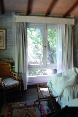 La Becasina Delta Lodge: view from bed