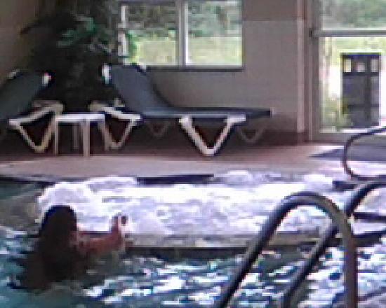 Sleep Inn & Suites Ruston : Hot tub & indoor pool