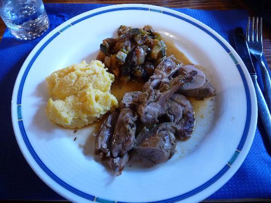 Restaurant Zum See : Baby Goat stew