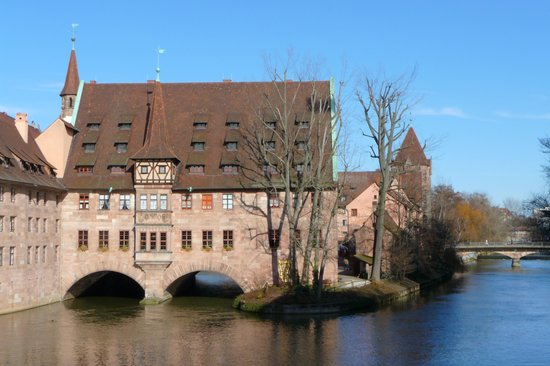 Núremberg, Alemania: Heilig Geist Spital Nürnberg