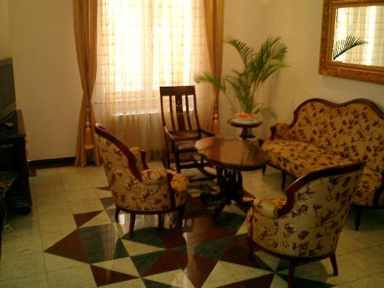 Garni Hotel Andjelika: Lounge area