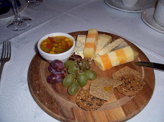 Cabra Castle Hotel: Cheese Board