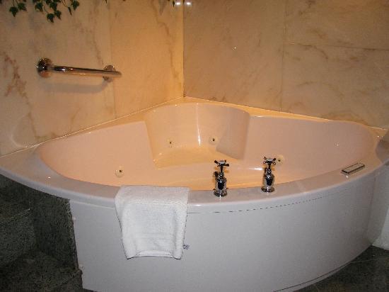 Roxford Lodge Hotel: Jacuzzi tub