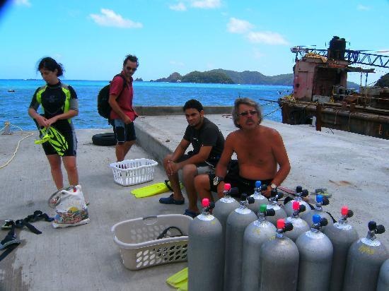 Manta Lodge: getting ready