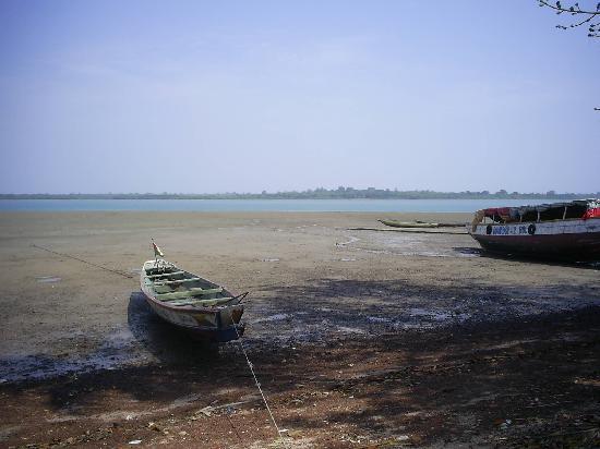 Ilha de Bolama, onde ficava a antiga capital de Guinea Bissau