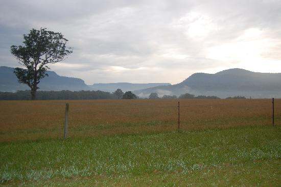 Kangaroo Valley, Australia: view from cabin