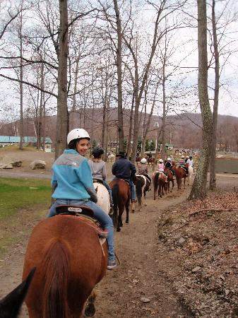 Rocking Horse Ranch Resort: fun on the trail