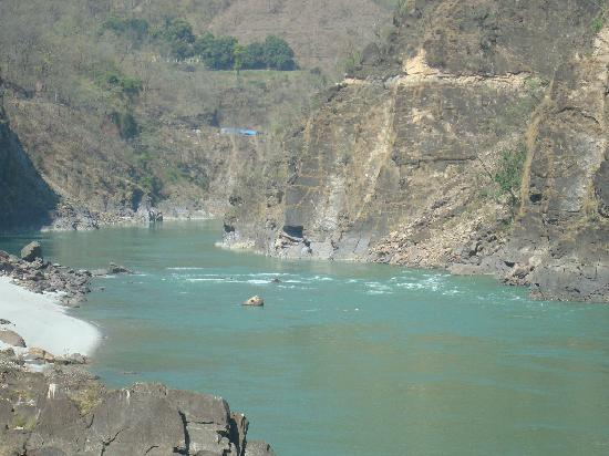 Rishikesh - The Camp 5 Elements by Aspen : View from the camp