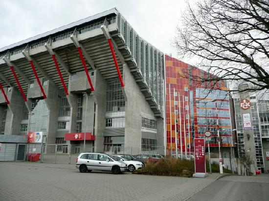 Main Entrance Of The Stadium Of Fc Kaiserslautern