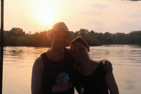 Casa Candolim: Sunset - Dolphin trip