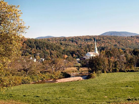 Stowe in the early fall
