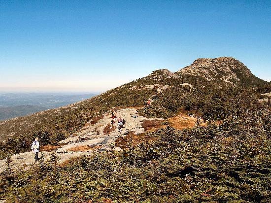Stowe, VT: The summit ridge of Mount Mansfield