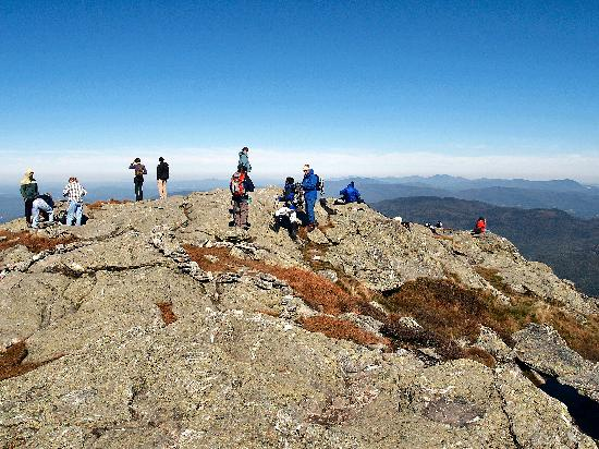 Stowe, VT: The summit of Mount Mansfield