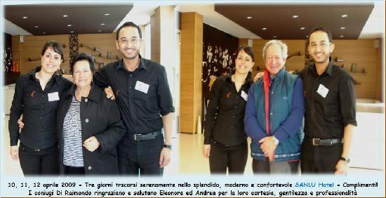 Sanlu Hotel: Arrivederci ad Eleonora ed Andrea
