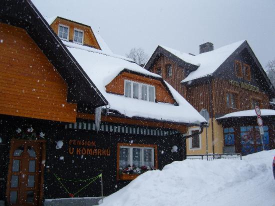 Hotel Alpina: downtown Spindleruv mlyn
