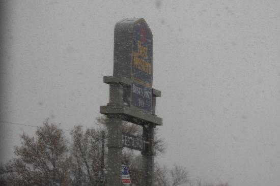 Las Animas, CO: snow storm