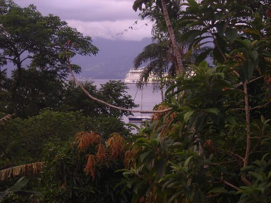 Vila do Abraao, RJ: Vista de la habitacion al mar- Alvorada Dos Borbas