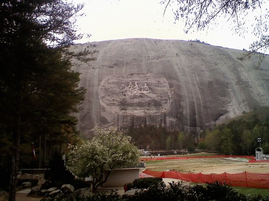 Fort Benning, GA: Stone Mountain from across park
