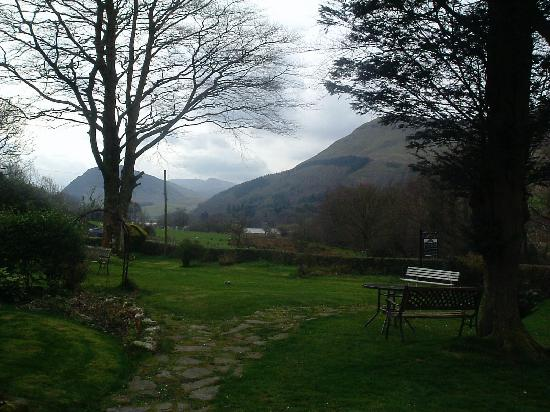 Loweswater, UK: View from Grange Country House Hotel