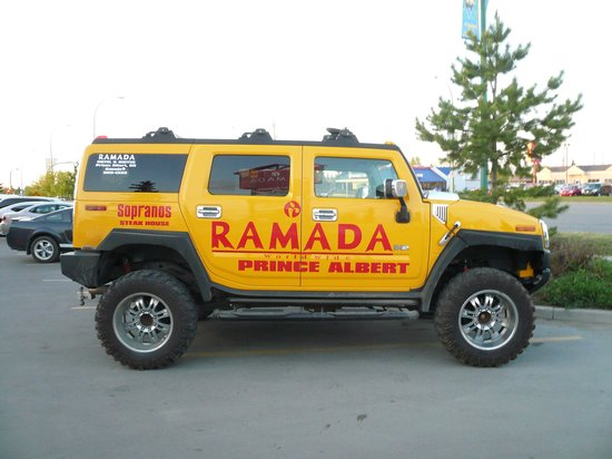 Prince Albert, Canada: Should sell the Hummer and spend money on hotel.
