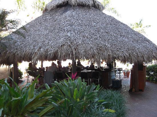 Palm Beach Shores Resort & Vacation Villas: outdoor Tiki Bar