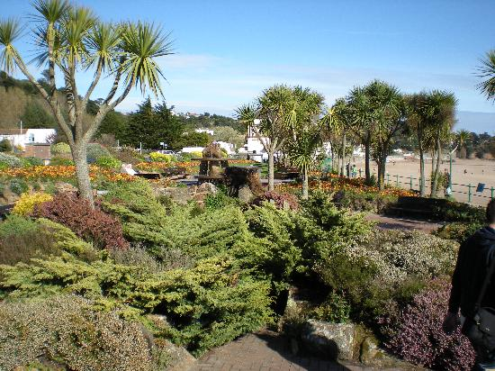 Beach picture of golden sands hotel st brelade for Garden design jersey channel islands
