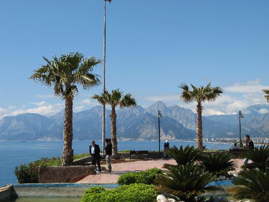 Karyatit Hotel: Mountains from Antalya