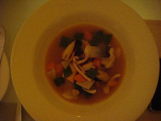 The Kitchen : hot pot fruit de mers