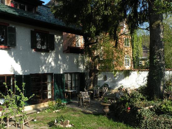 Haus Wartenberg: The garden