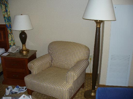 Harrah's North Kansas City: Chair premium room