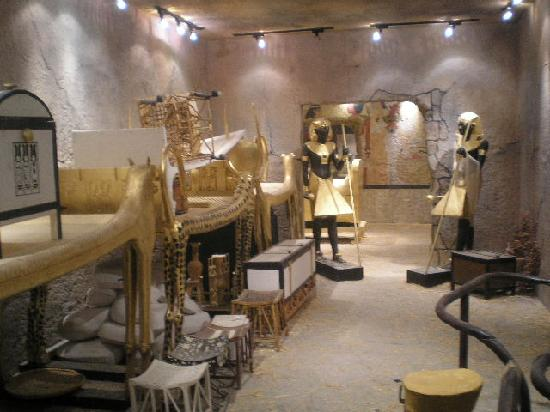 King Tut's Tomb and Museum: guardians of the tomb