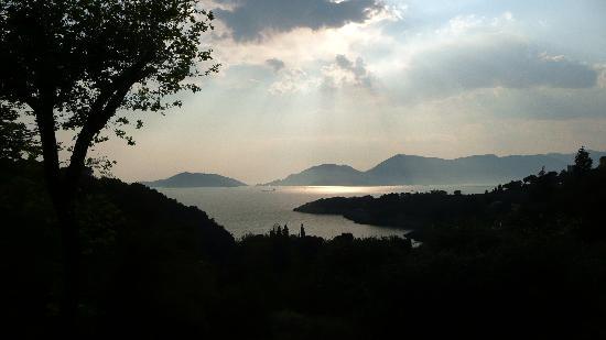 Tellaro, Italien: panorama al tramonto