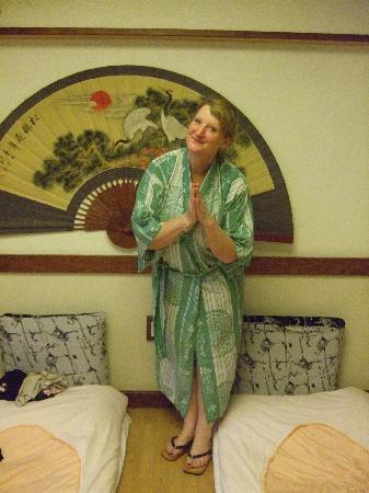 Yu Hotspring Resort: robes provided silly pose optional